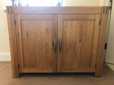 Solid Oak Sideboard • 75£