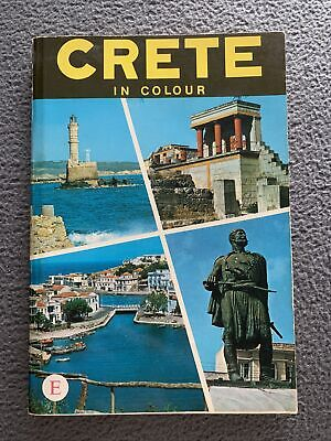 Crete In Colour A Tourist Guide Book 1972 George K Sakkas Paperback • 7£