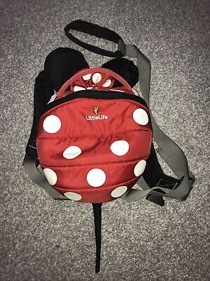 Little Life  Mini Mouse Toddler Backpack With Reins • 6£