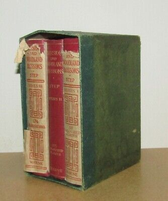 £100 • Buy Edward Step - Wayside And Woodland Blossoms - Series 1, 2 And 3 (New And 1st Ed)