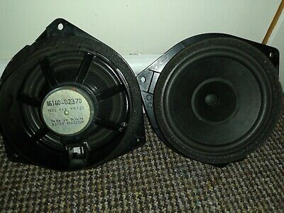 TOYOTA Avensis Corolla Front Door Speakers 86160-02370 One Sounds Fuzzy Other Ok • 5£