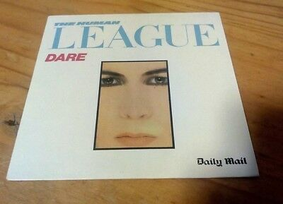 Human League CD Dare From The Daily Mail • 1.99£