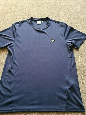 Lyle And Scott Tee Shirt (navy) - Size Large • 0.99£