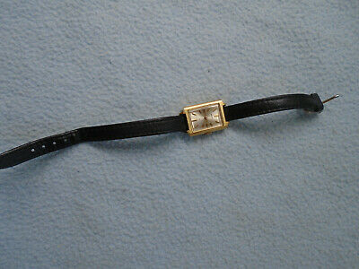 Gold Tone Seiko  Ladies Watch 770675 Working With Leather Strap • 10£