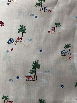£2.10 • Buy Michael Miller   Just Shell In' Life's A Beach   Fat Quarter.