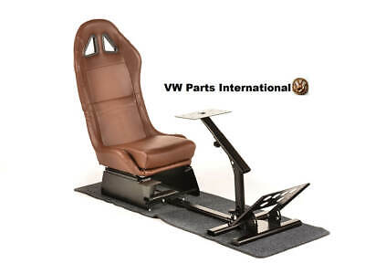 Car Gaming Racing Simulator Frame Chair Seat For PS5 XBox PC Faux Leather • 234.99£