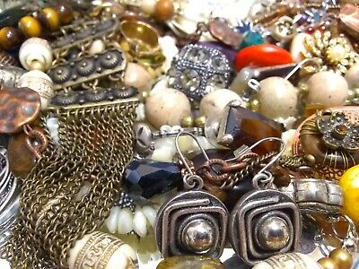 $ CDN63.42 • Buy Vintage To Now Jewelry Lot Necklaces Rings Brooches Bracelets Earrings Lot 1369