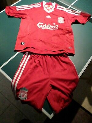 Adidas Childs Liverpool Football Kit • 4£
