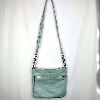 $ CDN13.01 • Buy Kate Spade Light Blue Robins Egg Crossbody Purse
