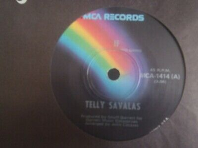 AU1.95 • Buy TELLY SAVALAS - 7 Single - IF - RUBBER BANDS AND BITS OF STRING -1975  OZ Copy