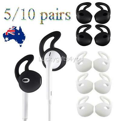 AU10.95 • Buy Pair Airpods Earpod Ear Hook Cover For Apple Airpods Earbuds Ear Tips Silicone Q