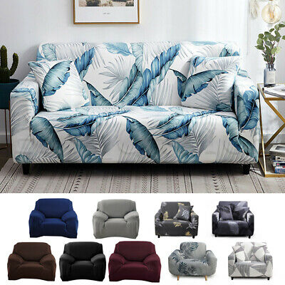 AU21.99 • Buy 1 2 3 4 Seater Stretch Sofa Cover Couch Lounge Fitted Chair Slipcover Protector