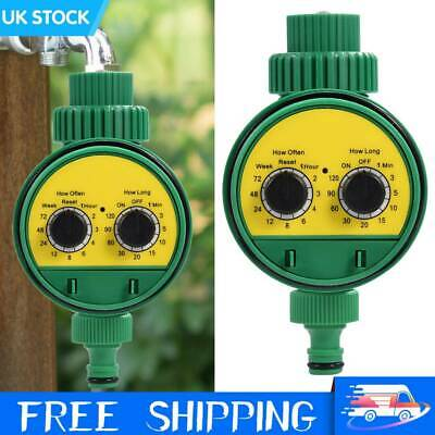 Automatic Drip Irrigation System Kit Plant +Timer Self Watering Garden Hose Tool • 14.89£