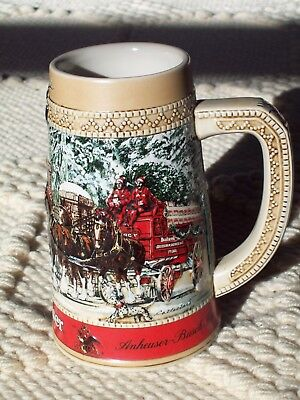 $ CDN11.93 • Buy Budweiser Beer Stein 1987 Collectors Series (Grant's Farm) ~ DILLY DILLY