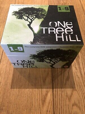 One Tree Hill - Series 1-9 - Complete (DVD, 2012, 50-Disc Set, Box Set) • 30£