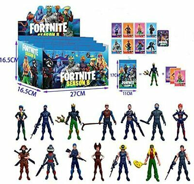 $ CDN10.24 • Buy FORTNITE SEASON 8 - Figure PVC Toys Kids Gift Mix Match Collection Blind Bags