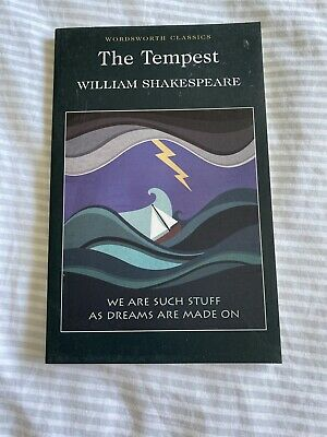 The Tempest By William Shakespeare (Paperback, 1994) • 1.50£