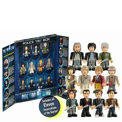 11Pcs/Set DR Doctor Who Collectable Action Figures Kids Toys Gift With Box • 9.69£