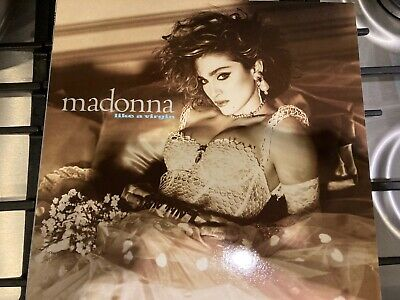 Madonna Like A Virgin Original 1984 Sire Records Uk Vinyl Lp • 1.20£