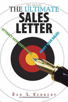 The Ultimate Sales Letter: Attract New Customers... By Kennedy, Dan S. Paperback • 6.50£