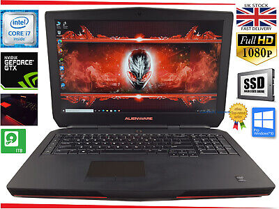 $ CDN2232.06 • Buy 17.3  ALIENWARE 17 Gaming Laptop Intel I7 Quad 16GB 512GB SSD+HDD Win10 GTX 980M