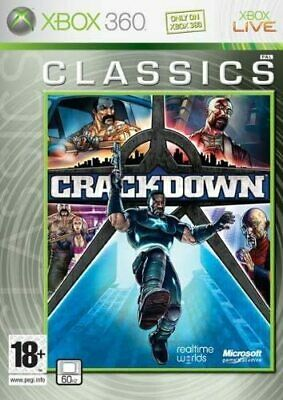 £3.49 • Buy Crackdown (Xbox 360 Classics) - Nordic Cover - Game Plays In English - UK PAL