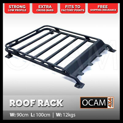 AU499 • Buy Aluminium Cage Roof Rack For Suzuki Jimny 1000 X 900mm Alloy Basket