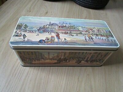 Vintage W&R JACOB&CO Piccadilly / Mannsion House / Tower Of London Biscuit Tin • 4.99£