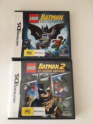 AU9.99 • Buy Nintendo DS LEGO Batman & Batman 2 Games Free Post