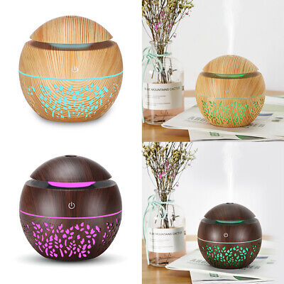 AU15.99 • Buy Ultrasonic Essential Oil Diffuser Aromatherapy LED Light Up Humidifier HomeRelax