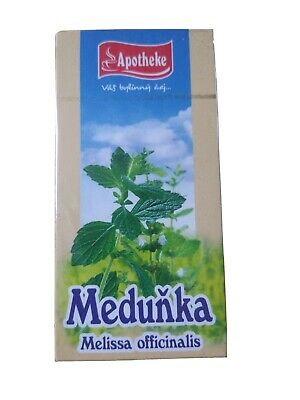 Melissa  Lemon Balm Herbal Tea (1 Box / 20 X 1.5g Tea Bags) Melisa  • 2.50£