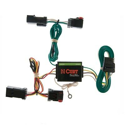 $43.39 • Buy Curt Trailer Hitch Custom Wiring Harness Connector 55382 For Jeep Liberty