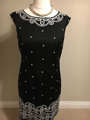 Ladies Monsoon Dress Size 14 • 12.99£