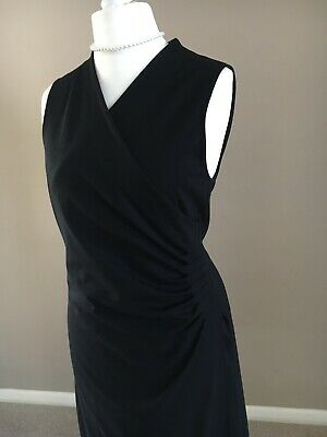 Ladies Black Ralph Lauren Dress Size L • 27.99£