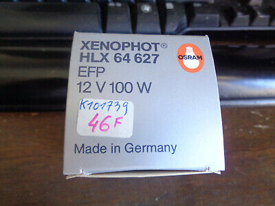OSRAM Xenophot HLX 64627 EFP 12V 100W Bulb Made In Germany. • 5£