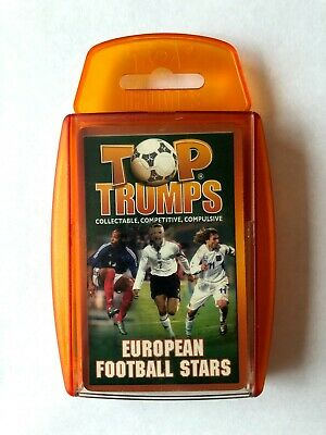 Top Trumps European Football Stars 2004 [Not Complete] • 1.99£