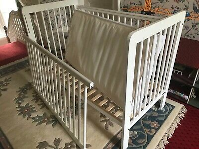 Cot Bed With Matress John Lewis Dropside Cot • 25£