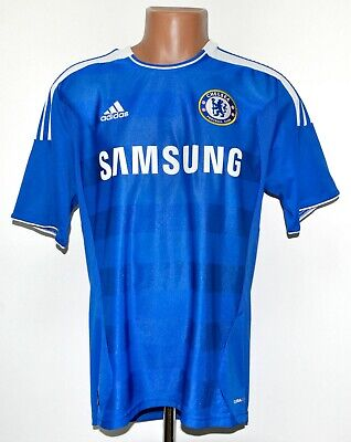 Chelsea London 2011/2012 Home Football Shirt Jersey Adidas Size M Adult • 69.99£
