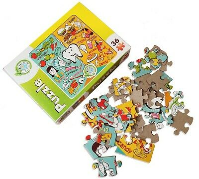 Dental Educational Puzzles For Kids 36Pcs | Perfect As A Gift Patient | Cerkamed • 3.95£