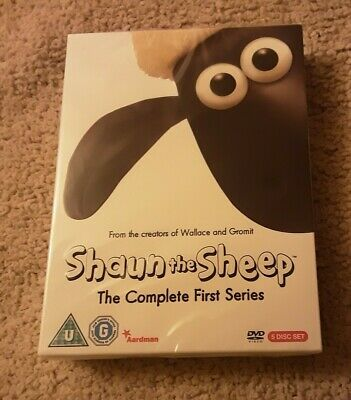 Shaun The Sheep - Series 1 - Complete (DVD, 2008, 5-Disc Set) Sealed  • 8.99£