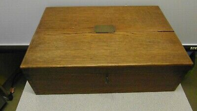 Vintage MAPPIN & WEBB Two Tier Wooden Cutlery Box With Brass Fittings • 69.99£