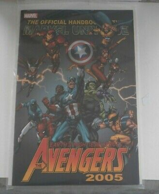 The Avengers Earths Mightiest Heroes 2005 Official Handbook • 1.69£