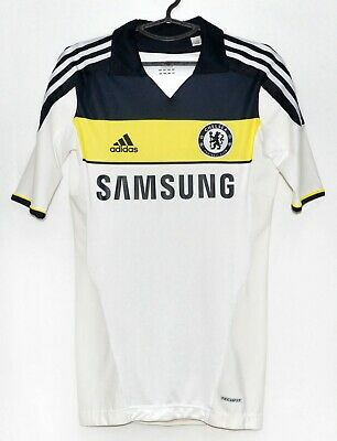Chelsea 2011/2012 Third Football Shirt Jersey Adidas Size M (6) Player Issue • 134.99£
