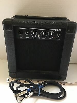 $ CDN74.70 • Buy Hollinger BC-08 Practice Guitar Amp  With Cord