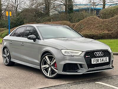 2017 67 Audi Rs3 Saloon Quattro Damaged Repaired Cat N/d Huge Spec May Px • 33,995£