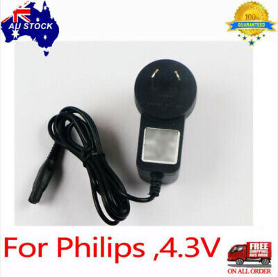 AU10.12 • Buy Charger For 4.3V Shaver Philips S300 S500 S100 RQ310 RQ330 QG3250 QP2520 Battery