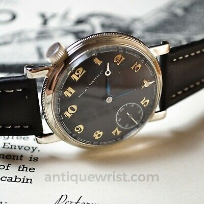 $ CDN2032.96 • Buy 43mm Antique Rolex Military Pilots Watch For Drivers Vintage Mens Chronometer