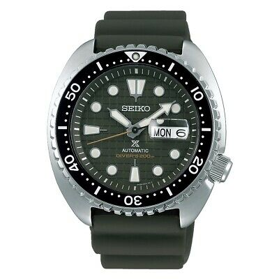$ CDN460.96 • Buy Seiko Prospex King Turtle Army Green 45mm Automatic Watch - SRPE05K1