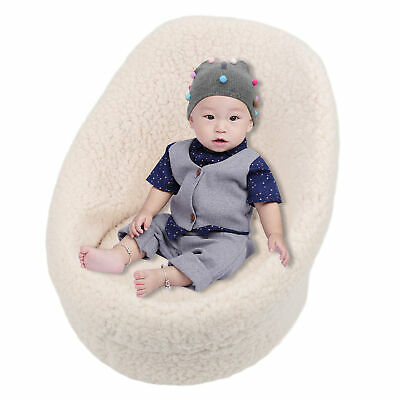 £18.22 • Buy Newborn Baby Photography Props Cotton Posing Sofa Seat Baby Photo Shooting Chair