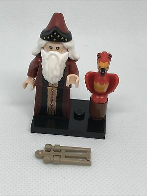 £5.99 • Buy Lego 71028 Harry Potter Minifigures Series 2 - Albus Dumbledor And Fawkes New